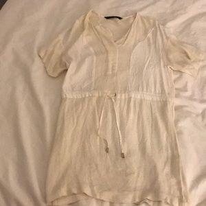 Zara cotton summer dress